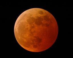 Blood Moon – written October 7, 2014